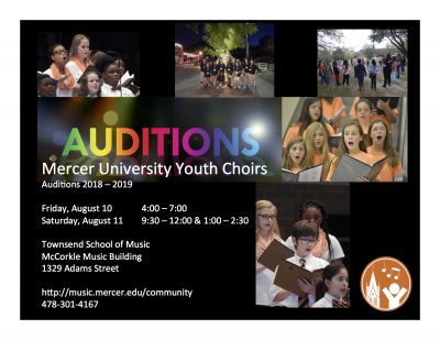 Mercer University Youth Choirs