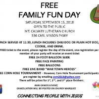Family Fun Day Free