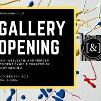 Student Gallery Exhibit