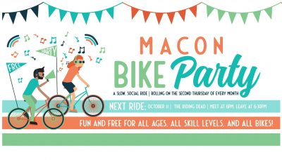 Macon Bike Party: The Riding Dead