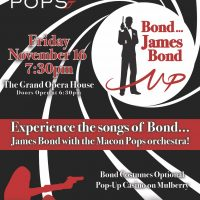 Macon Pops Performs 'The Songs of James Bond""