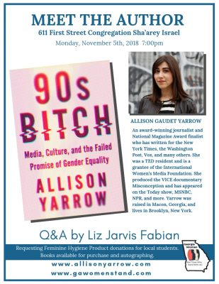 Meet the Author - Allison Gaudet Yarrow