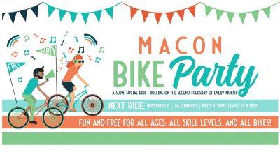Macon Bike Party: Pajamboree!