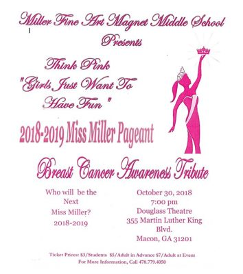 "2018-2019 MISS MILLER PAGEANT ""GIRLS JUST WANT T..."