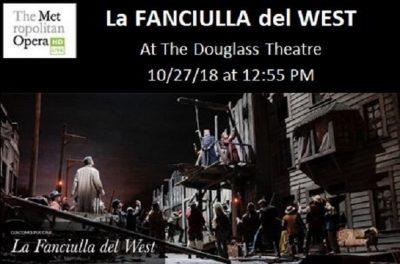 "The Met Opera Live in HD Presents... ""La FANCIUL..."
