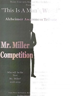 """2018-2019 Mr. Miller Competition """"THIS IS A MAN""""..."""