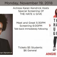 THE HATE U GIVE Special Screening