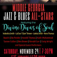 MIDDLE GEORGIA JAZZ & BLUES ALL - STARS CONCERT