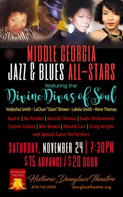 MIDDLE GEORGIA JAZZ & BLUES ALL - STARS CONCER...