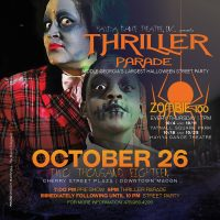 12th Annual Thriller Parade