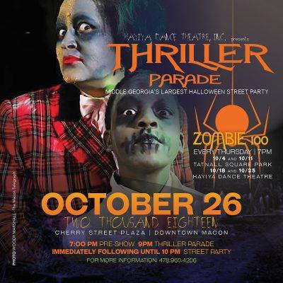 12th Annual Thriller Parade