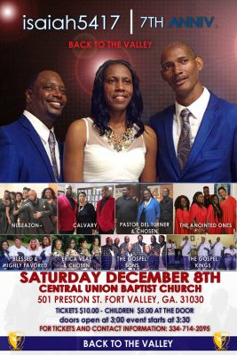 Back to the Valley 7th Anniversary Gospel Concert