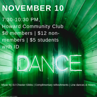 USA DANCE CHAPTER #6059 PRESENTS THEIR SECOND SATURDAY DANCE