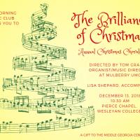 Morning Music Club Christmas Chorale