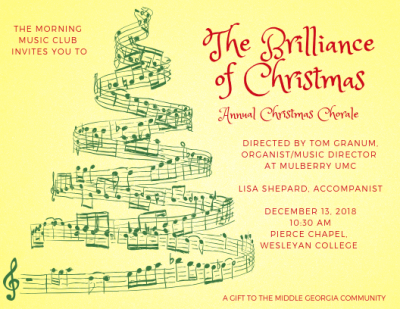 Morning Music Club Christmas Chorale