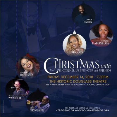 CHRISTMAS WITH PIANIST R. CORNELIUS SPENCER & ...