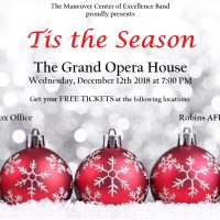 FREE!!! MCoE Army Band Holiday Concert. One Night Only!!