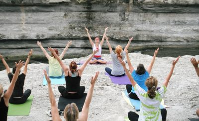 Monthly Yoga Classes at the Museum of Aviation