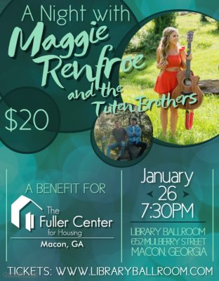 A Night with Maggie Renfroe: Fuller Center Benefit...