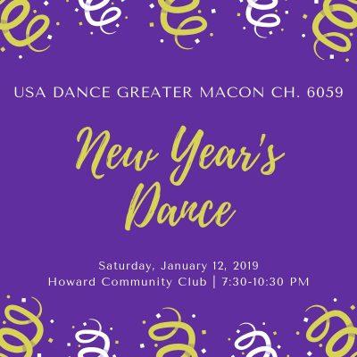 USA DANCE CHAPTER 6059 - NEW YEAR'S DANCE