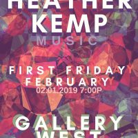 Gallery West First Friday/4th Anniversary Party