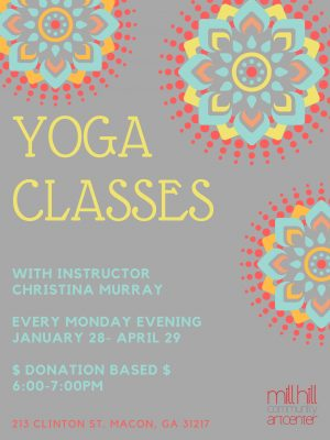 Vinyasa Yoga Spring Session (January-April)