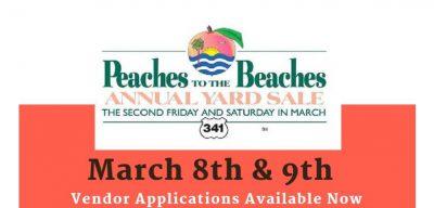 Peaches To The Beaches