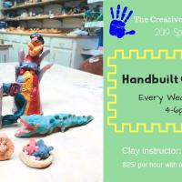 Handbuilt Ceramic (Age 5+)