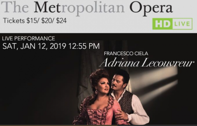 The MET Opera Presents...ADRIANA LECOUVREUR Live in HD