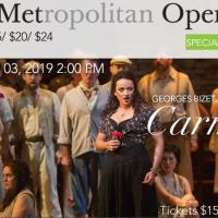 The MET Opera Presents...CARMEN
