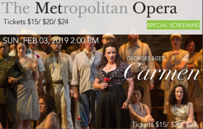 The MET Opera Presents...CARMEN