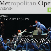 The MET Opera Presents... La Fille du Regiment Live in HD