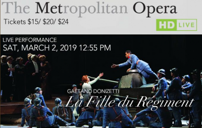 The MET Opera Presents... La Fille du Regiment Liv...
