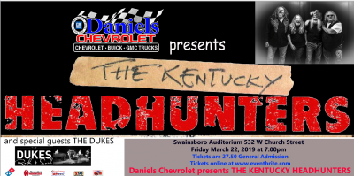 The Kentucky Headhunters in Swainsboro