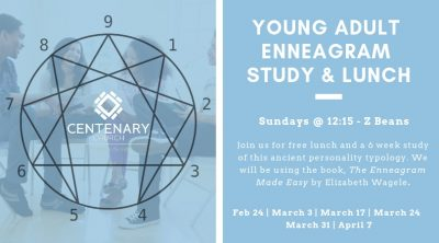 Young Adult Enneagram Study & Lunch