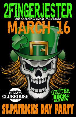 2FingerJester St.Patricks Day ShamRock-n-Roll