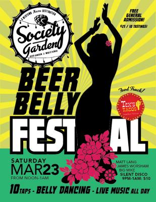 Beer Belly Festival at Society Garden