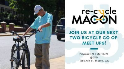 Re-Cycle Macon Bicycle Co-Op Meet Up