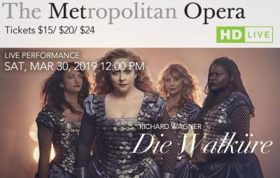 The MET Opera Presents... DIE WALKüRE