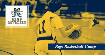 Camp Cavalier: Boys Basketball Camp