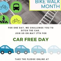 Macon Car Free Day-Take the Pledge