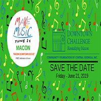"Gloria Stanley, Downtown Community Challenge Grant Winner - ""Make Music Day Macon, Where Soul Lives"""