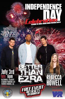 Warner Robins Independence Day Celebration Concert...