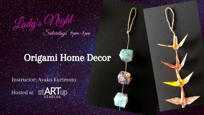 Lady's Night: Origami Home Decor