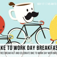 Bike to Work Day Breakfast with Bike Walk Macon