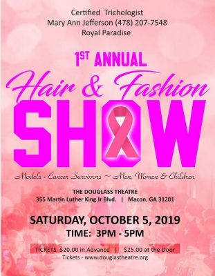 1st ANNUAL HAIR & FASHION SHOW