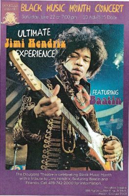 ULTIMATE JIMI HENDRIX EXPERIENCE Featuring BAATIN
