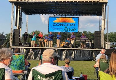 Concert on the Lawn Featuring The Grapevine Band