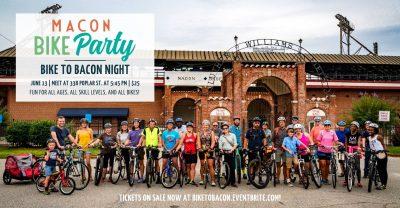 Macon Bike Party: Bike to Bacon Night!