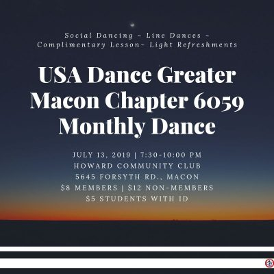 USA DANCE CHAPTER 6059 - SOCIAL DANCE